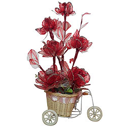 Stunning Red Coloured Artificial Flowers