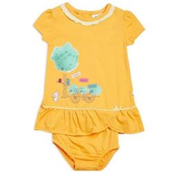 Adorable Apricot Coloured Baby Set by MiniKlub
