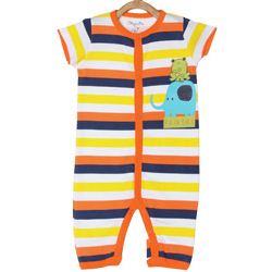 Multi-Coloured Kids Romper by MiniKlub