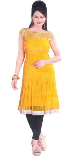 Exciting Flair Georgette Kurti