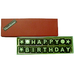 Deliver Happy Birthday Homemade Chocolates Pack