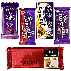 Delectable Assortment of Cadbury Chocolates