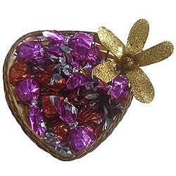 Heart Shaped Box of Mixed Handmade Chocolates
