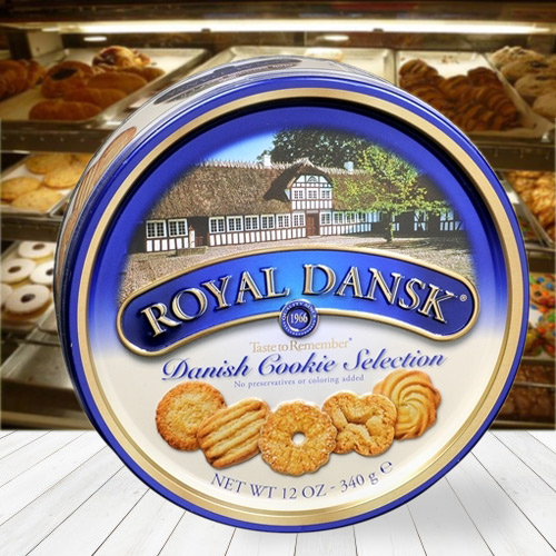 Delectable Assorted Cookies from Dansk