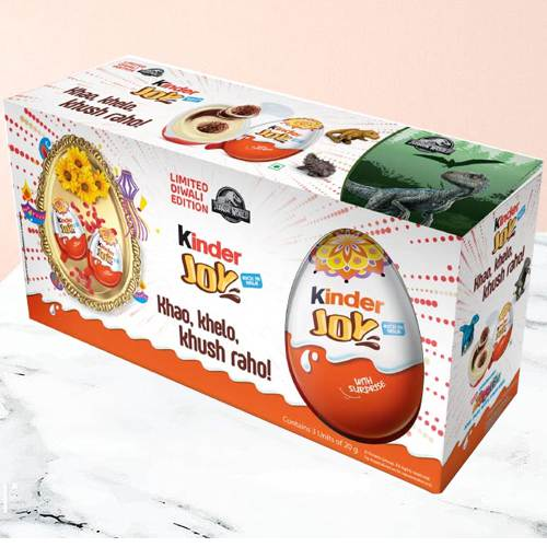 Yummy Pack of Kinder Joy Chocolates
