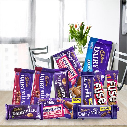 Yummy Assortment of Cadbury Chocolates