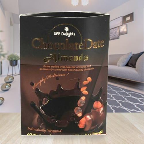Delectable Date Almond Chocolates
