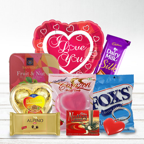 Marvelous I Love You Chocolate Hamper