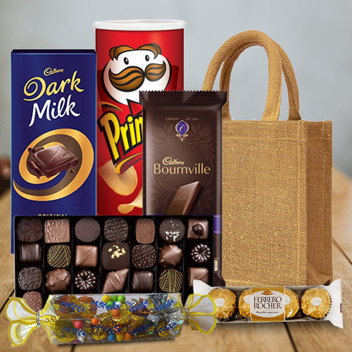 Toothsome Celebration Chocolates Hamper