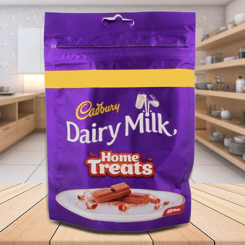 Delicious Cadbury Dairy Milk Home Treats
