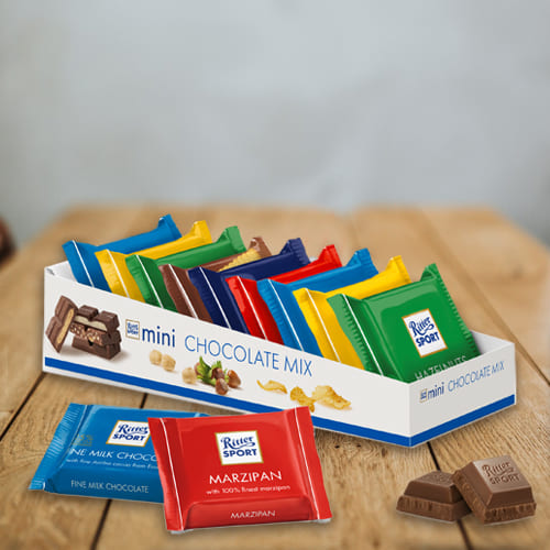 Delicious Ritter Sport Mini Chocolate Mix