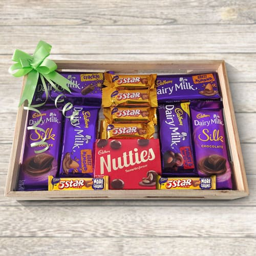 Delicious Cadburys Chocolate Gift Tray