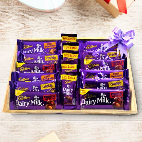 Delicious Cadbury Chocolates Hamper