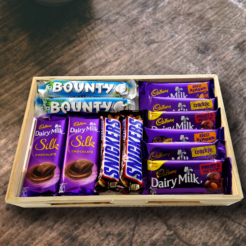 Amazing Birthday Chocolates Hamper