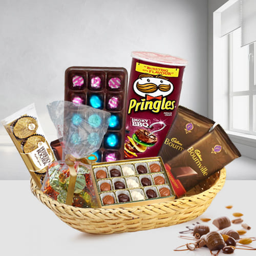 Tasty Chocolates Gift Basket
