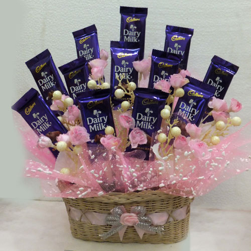 Marvelous Cadbury Dairy Milk Basket