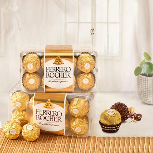 Delectable Ferrero Rocher Chocolates Box