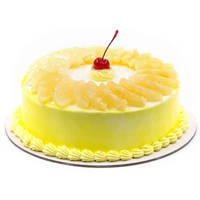 Online Gift Pineapple Cake from Taj or 5 Star Bakery