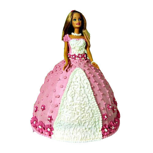 Cute Barbie Cake