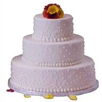 Royal designed Three Tier Cake