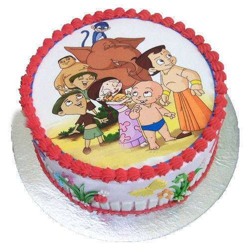 Sublime treat of Chota Bheem Cake