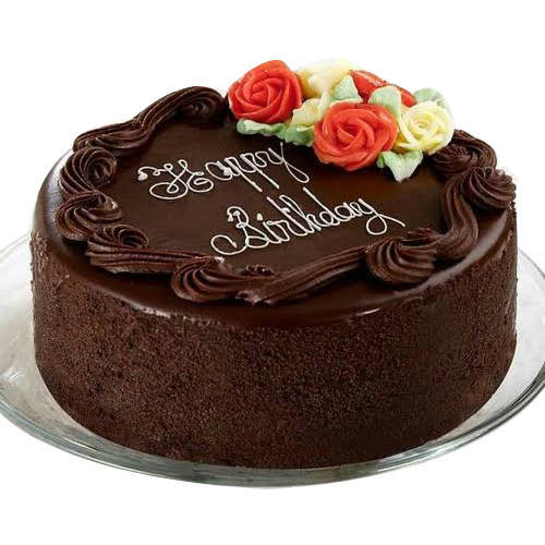 Splashy Sweetness Chocolate Cake