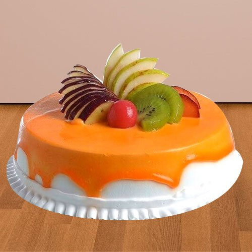 Remarkable Fantasy Fresh Fruit Cake