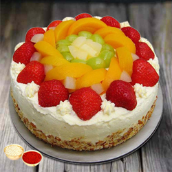 Enjoyment's Embrace 1 Kg Egg-less Fresh Fruit Cake