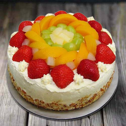Palate's Pat 1 Kg Egg-less Fresh Fruit Cake
