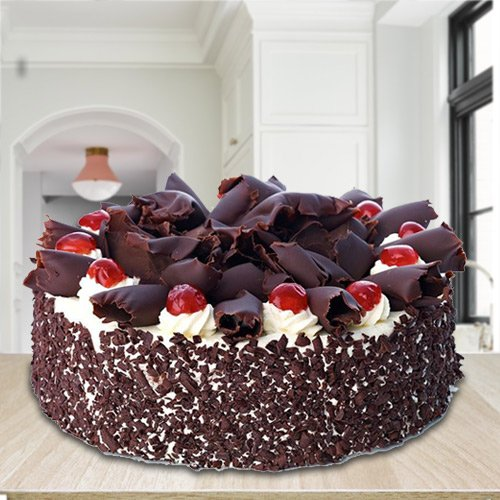 Enticing 2.2 Lb Black Forest Cake from 3/4 Star Bakery