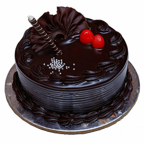Yummy Chocolate Truffle Cake