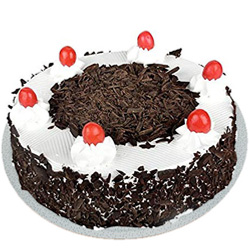Birth-Day Delight Delicious Black Forest Cake