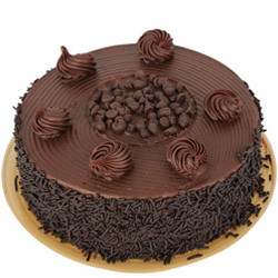Chocolate-Flavored Anniversary Cake