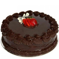 Send Gift Eggless Chocolate Cake Online