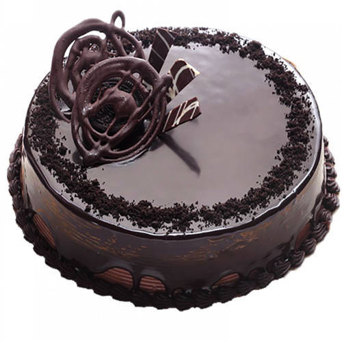 Tempting Truffle Chocolate Cake