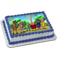 Gift Online Kids Motu Patlu Photo Cake