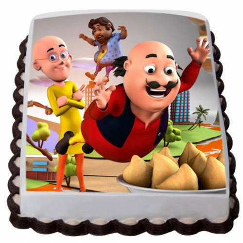 Unique Motu Patlu Cake for Kids