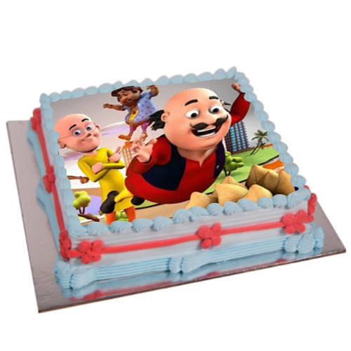 Luscious Motu Patlu Cake for Kids