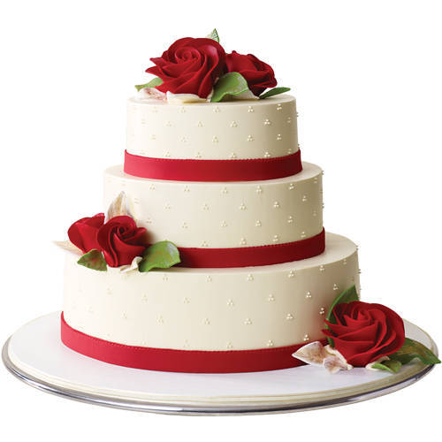 Fabulous 3 Tier Wedding Cake