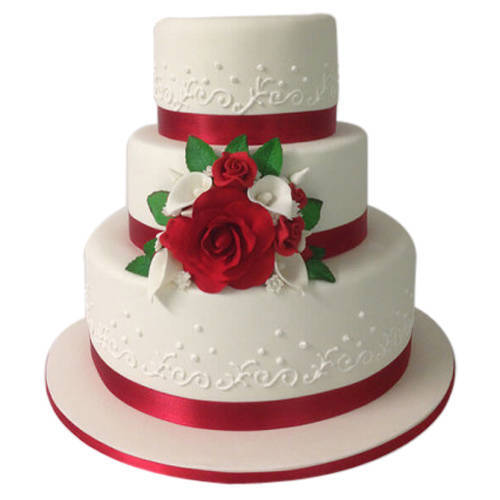 Source of Elegance 3 Tier Wedding Cake