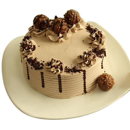 Delectable Ferrero Rocher Chocolate Cake