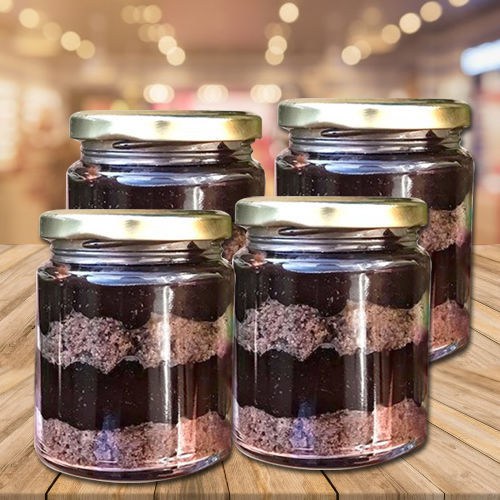 Delicious Chocolate Jar Cakes