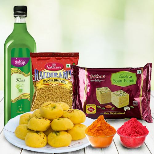 Tangy Haldirams Snacks Assortment
