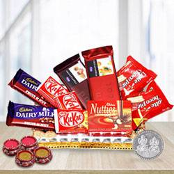 Sumptuous Festive Chocolate Gift Hamper