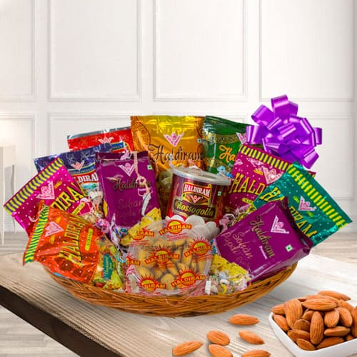Delicious Haldirams Assortments Gift Hamper