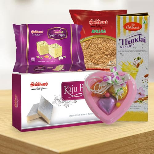 Mouth-Watering Haldirams Gift Combo