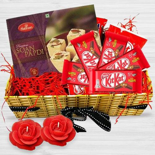 Affectionate Diwali Time Gift Basket