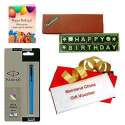 Amazing Selection of Mainland China Gift Voucher worth Rs.1000