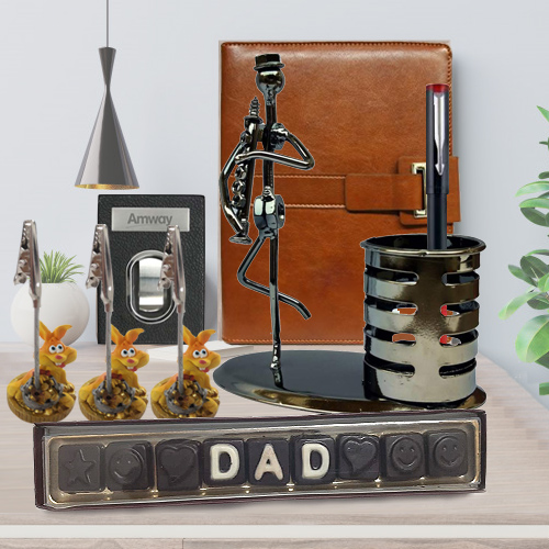 Fathers Day Greeting Gift Hamper for Dad