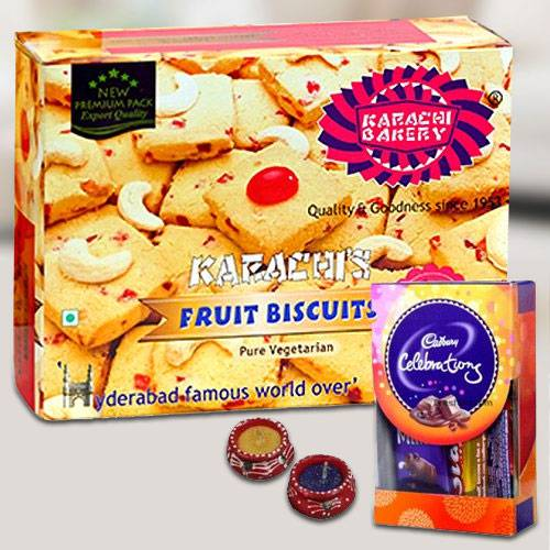 Cookies with Cadbury Chocolates for Diwali